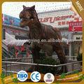 De la diversión parque de atracciones de - tamaño dinosaurio artificial modelo