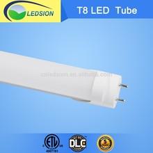 DLC ETL CE Rohs SAA Passed SMD 2835 28W 1800mm 6ft T8 LED Tube Light 3 Years Warranty