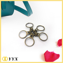 High quality fashion #3 metal zipper slider with round puller