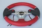 Aluminium Alloy /Car refitting steering wheel(PVC 320mm/13inch)