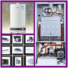 gas burner gas fired boiler for home heating