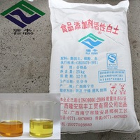 Activated clay for refining Soybean oil
