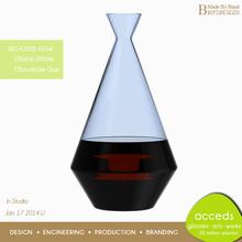 Beautiful Shape Unique Glass Best Wine Decanter