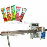 Full automatic lollipop packaging machine