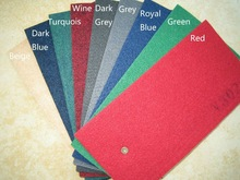 Needle punched plain color Nonwoven exhibition carpet rugs, exhibition carpet rugs