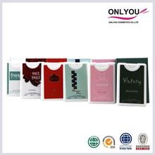 Best Hot Sale New Pocket Brand Mini Natural Spray 20ml Perfume