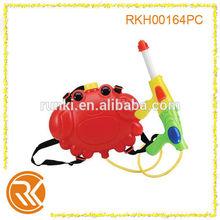 Children summer best toy water gun toys for kids, animal shape backpack water gun