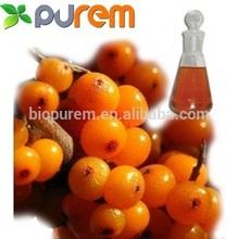 100% Natural Seabuckthorn fruit//seed Oil/ Hippophae Rhamnoides L.