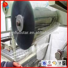 Plastic sheet for folding pack