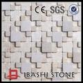 marmo bianco di mattonelle di mosaico