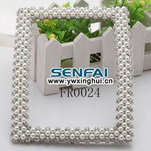 2014 Fashion Home Decration Zinc Alloy Photo frame,Custom Design Pearl Photo frames,Accessories Jewelry