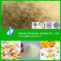 high quality pharmaceutical capsule gelatin bloom 250
