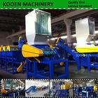 Recycled plastic scrap crushing machine