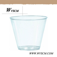 a competitive price disposable clear plastic cupcake cup for sale