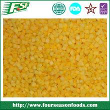 Wholesale bulk green mango, Frozen/IQF mango cubes 2014 new crop