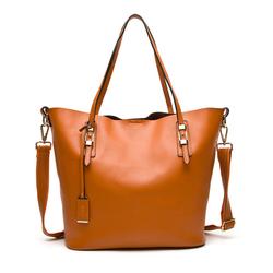 A002 China Customized Hot Fashion Leather Handbag / Fashion Cheap Wholesale Genuine Leather Woman's Bag