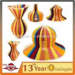 Magic paper vase hat