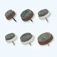High quality wholesale plastic felt chair nail on glides