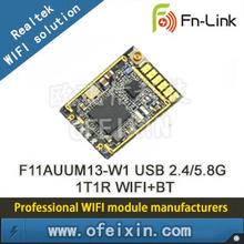 OFEIXIN REALTEK Chipset usb 433mhz transceiver wifi module 802.11b/g/n/ac dual band 2.4ghz / 5ghz usb wifi adapter