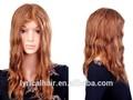 Pedaços de cabelo sintético, rabo de cavalo de cabelo no preço de fábrica peluca