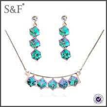 NEW Fashion shining stones jewelry set