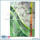 colorful printed plastic food packaging bag for organic vegetables/vegetable packaging bag/freezer bag