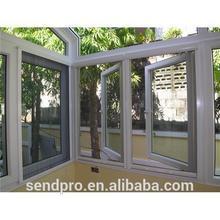 Factory whosale price white color pvc sliding windows /pvc slide window/PVC windows