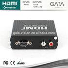 HDMI zu VGA adapter with RCA audio