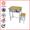 SJ-138 luoyang supplier exporting school folding desk and chairs for students