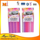 Decorative Taper Birthday Candles