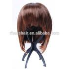 fashion design plastic black/pink wig stand