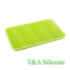 Wave shape custom silicone ice cube tray