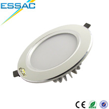 Recessed ceiling Warm White color temperature 9w led downlight housings
