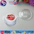 venta caliente caja de plástico de material del medio ambiente mini desechables de plástico de contenedores con tapa