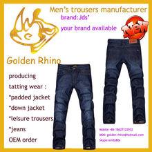 Fashion New Style cowboy trousers ,blue jeans , denim jeans