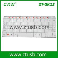 Top sale mini 2.4G ultra slim wireless keyboard for desktop/Laptop/pda/ipad