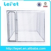 2014 new chain link box outdoor galvanized steel dog kennel wholesale