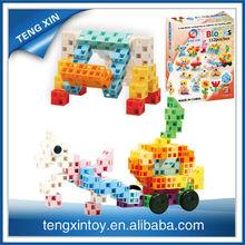 plastic interlocking toy for kids