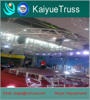 Fashional car show lighting truss portable stage truss