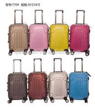 2014 hot sale luggage,trolley luggage case,colorful luggage set