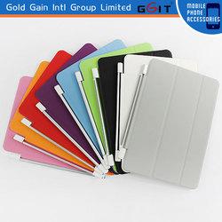 Lattice Lines PU PC Foldable Stand Case Cover for iPad Mini