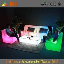 light up sofa / outdoor gardent led sofa corner / led outdoor sofa