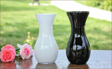 Never out of date handmade colored glass vases