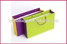 UV bling large natural gift paper bag