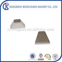 N42SH Nickel Coating Rare Earth Permanent Tile / T Magnet