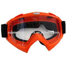 Dirt Bike ATV Off-Road Ski Snowboard Orange Motorcycle Goggles