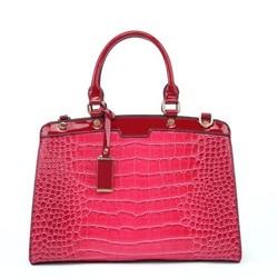 guangzhou factory unique brand high fashion 2014 lady handbag