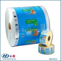 laminated material plastic food packaging film roll