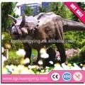 2014 Hot parque de diversões jardim decoração estátua de dinossauro