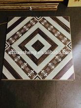 HDF wax coating 600*600 parquet laminate flooring waterproof